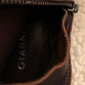 Gianni Bini Shoes - Gianni Bini brown leather tall boots size 6 M
